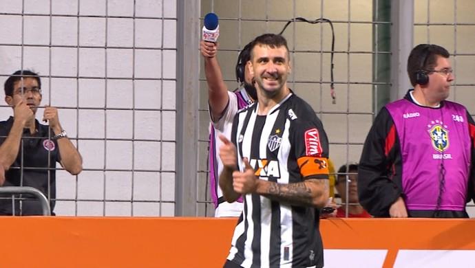 Lucas Pratto; Atlético-MG (Foto: Reprodução/TV Globo)