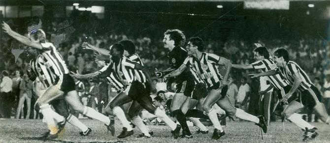 Blog Torcida Coritiba - 1985 Maracanã