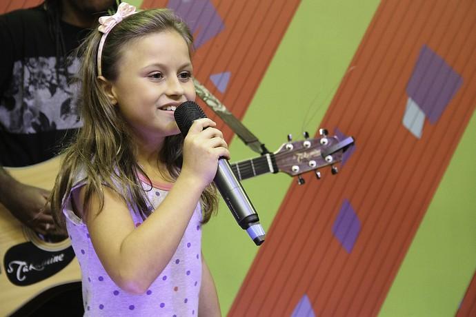 Rafa Gomes The Voice Kids Estúdio C (Foto: Guilherme Artigas/ RPC)