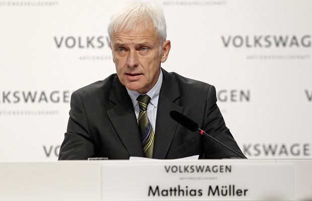 CEO da Volkswagen, Matthias Müller pede desculpas por escândalo de emissões (Foto: Divulgação)