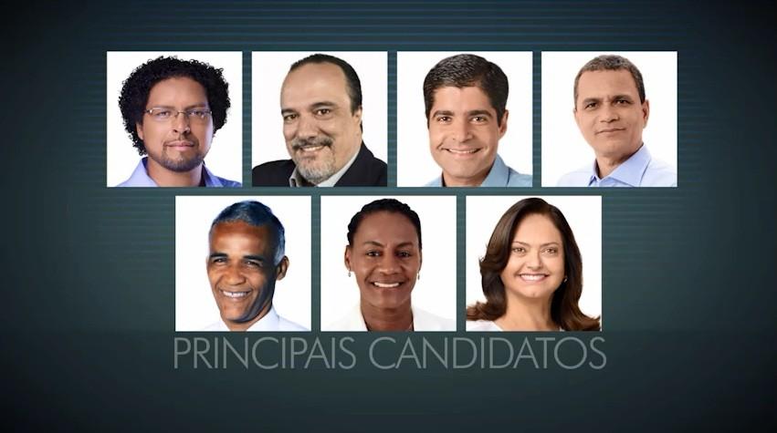 Candidatos à prefeitura de Salvador (Foto: Divulgação)