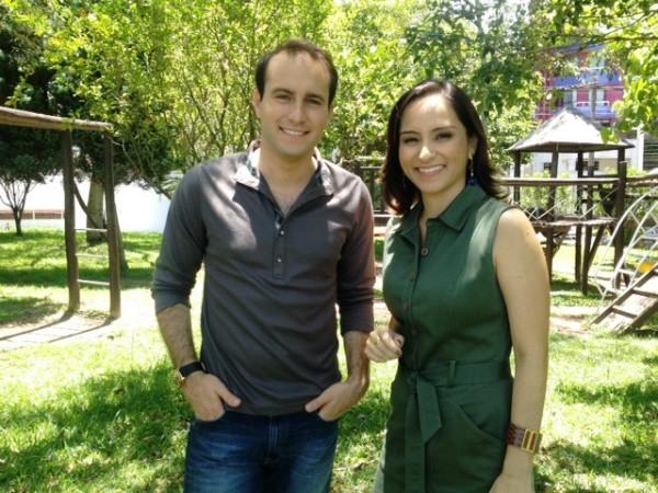 João Salgado e Sonia Campos apresentam o Vida e Saúde aos sábados a partir das 8h (Foto: Natan Messias/RBS TV)