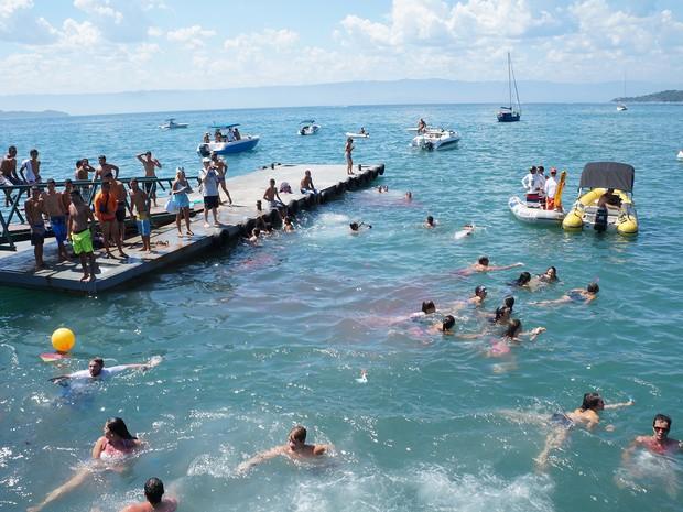 'Banho da Doroteia' deve reunir mil foliões no carnaval de Ilhabela, SP (Foto: Divulgação/PMI)