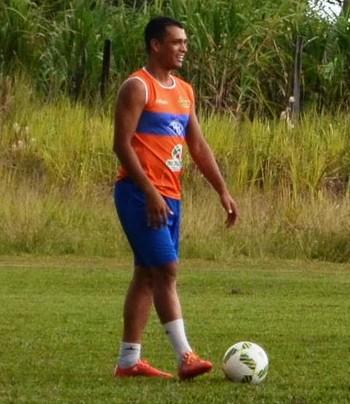 Ailton, atacante Atlético-AC (Foto: Duaine Rodrigues)