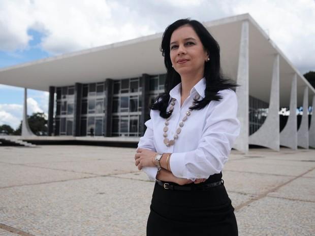 Grace Mendonça é a primeira mulher ministra no governo Temer  (Foto: Wesley Mcallister/AscomAGU)