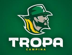 Logotipo do Tropa Campina, time de futebol americano de Campina Grande (Foto: divulgação)