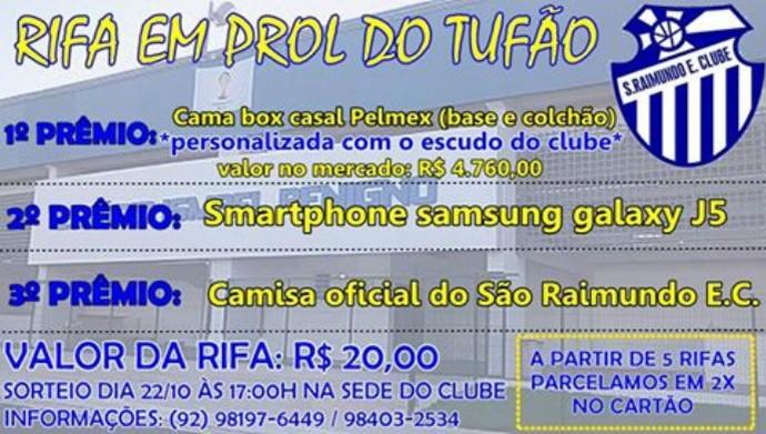 Rifa São Raimundo (Foto: Reprodução)
