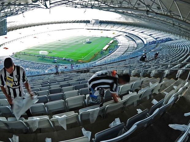 mineirão 360 º (Foto: Marcos Ribolli / Globoesporte.com)