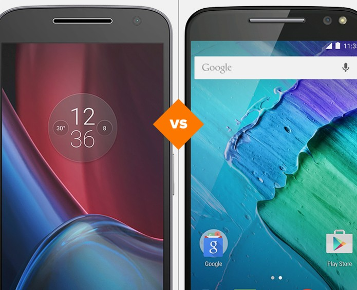 Moto G 4 Plus ou Moto X Style: compare a ficha técnica dos celulares de menos de R$ 2.000 (Foto: Arte/TechTudo)