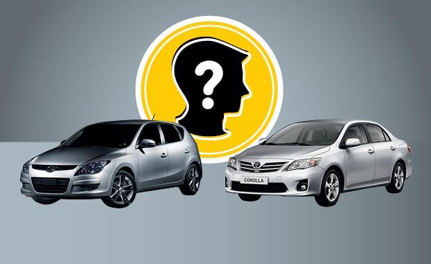 Que carro eu compro Hyundai i30 ou Toyota Corolla (Foto: Autoesporte)