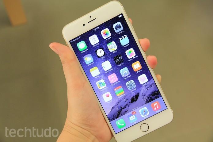 iPhone 6 Plus consome duas vezes mais dados do que iPhone 6 (Foto: Anna Kellen/TechTudo)