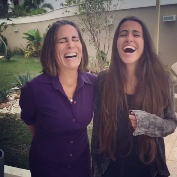 Glória Pires e filha (Foto: Instagram / Reprodução)