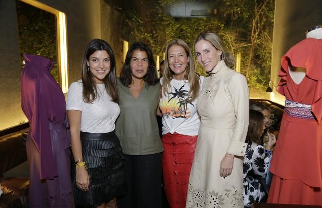 Fernanda Vidigal, Daniela Falcao, Donata Meirelles e Luiza Ortiz (Foto: Divulgação)