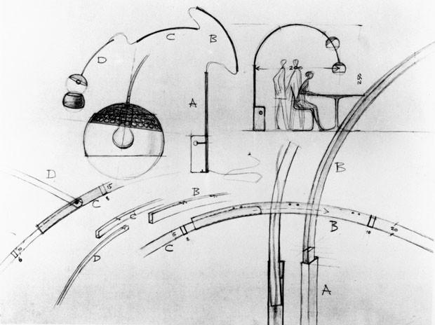 Arco de castiglioni completa 50 anos casa vogue design for Arco castiglioni