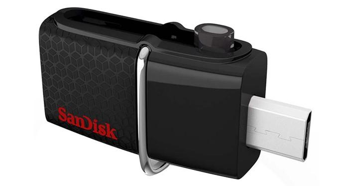 Pendrive para celular com entrada micro USB pode ser reaproveitado no S7 (Foto: Divulgação/Sandisk)