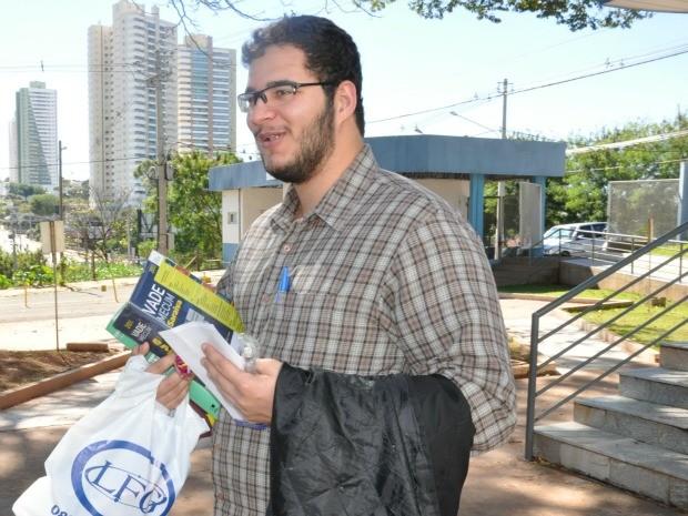 José Flavioq (Foto: Fernando da Mata/G1 MS)