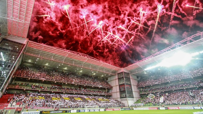 Independência, Atlético-MG x Santa Fé-COL (Foto: Bruno Cantini/CAM)