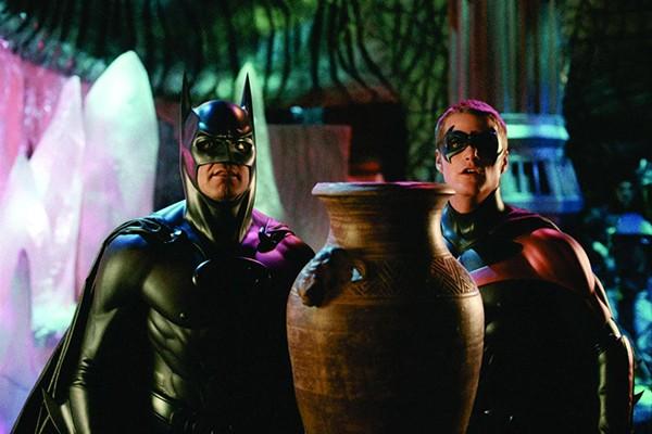 George Clooney e Chris O'Donnell em Batman & Robin (Foto: Divulgação)