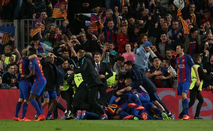 barcelona x psg (Foto: Reuters / Albert Gea)