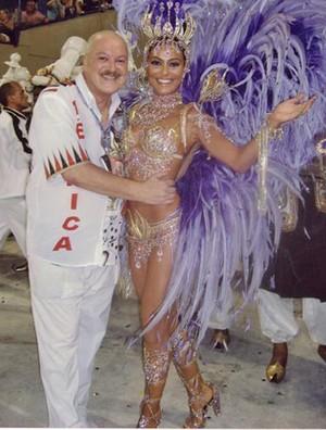 Galeria Reis do Carnaval - Carlinhos Barzellai e Juliana Paes (Foto: Arquivo Pessoal)