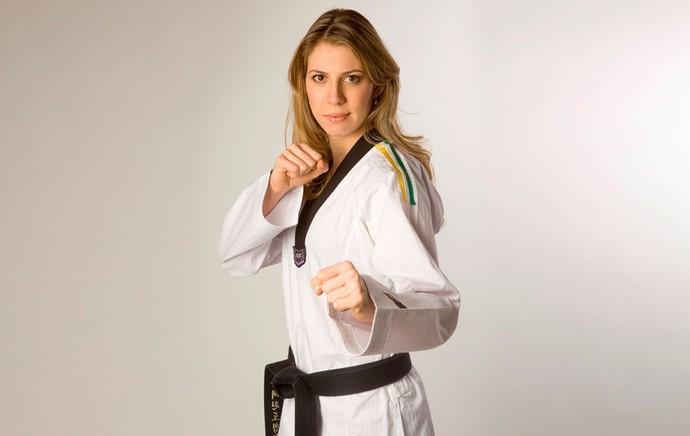 Natalia Falavigna taekwondo (Foto: Fausto Roim / Divulgação)