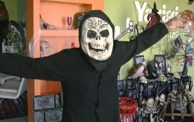 A data é comemorada em 31 de outubro e lojas de Boa Vista se preparam para demanda (Foto: Roraima TV)