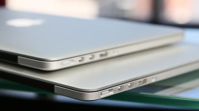 Desde 2013, versões de entrada do MacBook Pro contam com placas de vídeo da Intel (Foto: Reprodução/CNet)