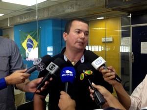 Delegado da Polícia Federal, Fábio Pessoa (Foto: Jamile Alves/G1 AM)