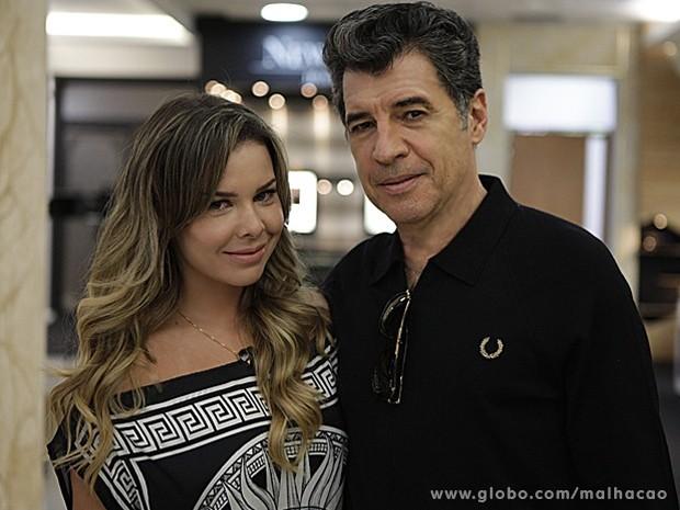 Fernanda Souza e Paulo Betti são um casal em Malhação (Foto: Malhação / TV Globo)