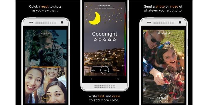 Slingshot, é o novo app do Facebook que envia fotos e vídeos que expiram (Foto: Reprodução/ Slingshot)