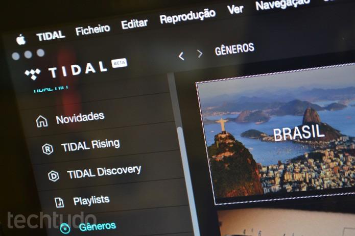 Tidal se prepara para chegar ao Brasil com conteúdo local; veja o que esperar (Foto: Melissa Cruz / TechTudo)