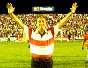 Fernando Nébson antes de jogo do Galo (Foto: Júnior de Melo/Divulgação CRB)