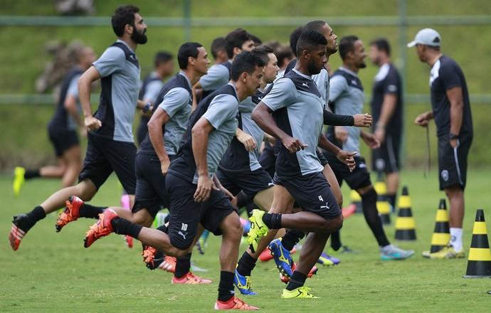 Botafogo - treino (Foto: SS Press)