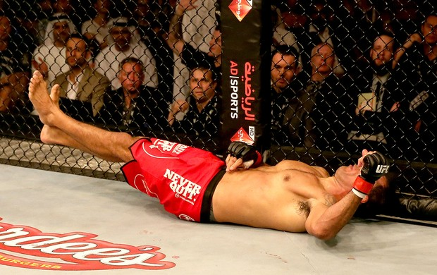 Rodrigo Nogueira Minotauro derrotado UFC em Abu Dahbi (Foto: Getty Images)