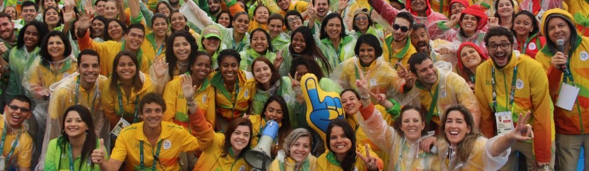 Voluntários Rio 2016 (Foto: Divulgação)