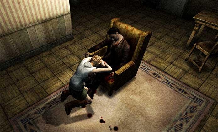 Heather encontra seu pai morto em Silent Hill 3 (Foto: Reprodução/Felipe Vinha)