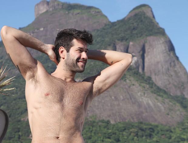 Daniel Del Sarto, ex 'Malhação', fala de idade e crise aos 40 anos: Medo de estar velho demais e não ter tempo para fazer tudo que queria realizar (Foto: Press Rio/Divulgação)