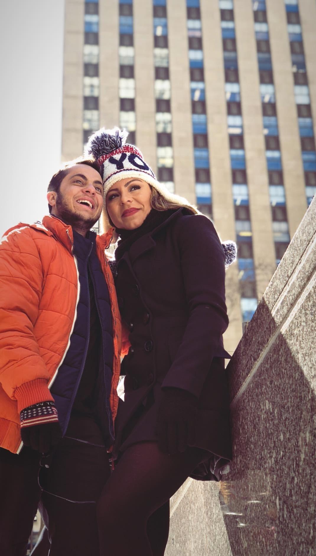 Thammy Miranda e Andressa Ferreira curtem lua de mel em Nova York (Foto: Multishow)