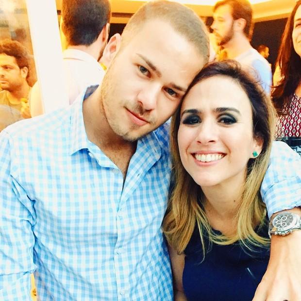 Victor Oliveira e Tatá Werneck (Foto: Reprodução/Instagram)