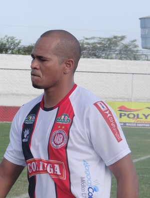 Aloísio Chulapa, atacante  (Foto: Leonardo Freire/GLOBOESPORTE.COM)