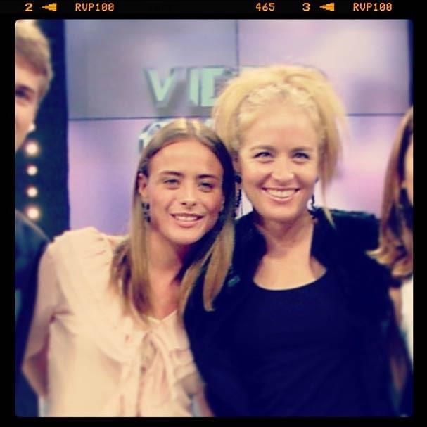 A apresentadora ao lado de Juliana Silveira na foto da discórdia (Foto: Reprodução/Instagram)