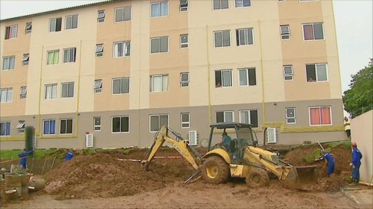 Muro de condomínio entregue em dezembro cai e preocupa em Rio Claro