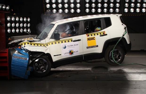 Jeep-Renegade-ganha-5-estrelas-no-teste-de-colisão-do-Latin-NCAP (Foto: Divulgação)