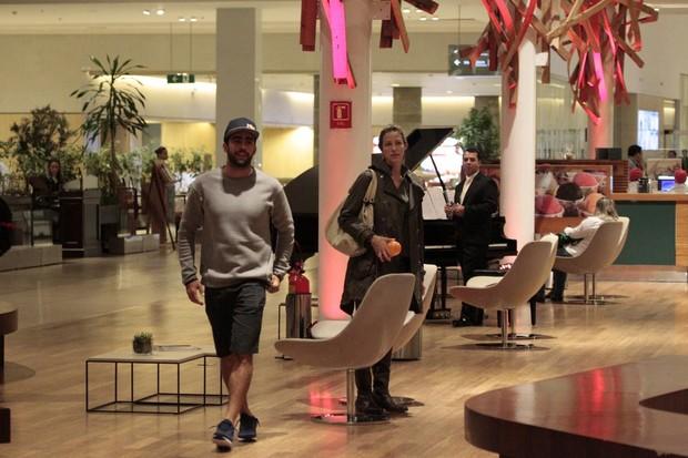 Luana Piovani e Pedro Scooby (Foto: AgNews)