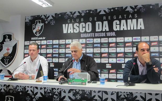 coletiva Vasco (Foto: Gustavo Rotstein)