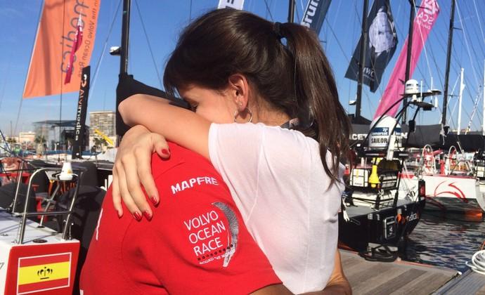 Regata Volta ao Mundo Ocean Volvo (Foto: Adriana Krauss/RBS TV)