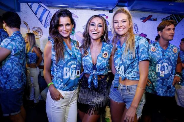 Fernanda Mota, Sabrina Sato e Candice Swanepoel (Foto: Felipe Panfili/ Ag. News)