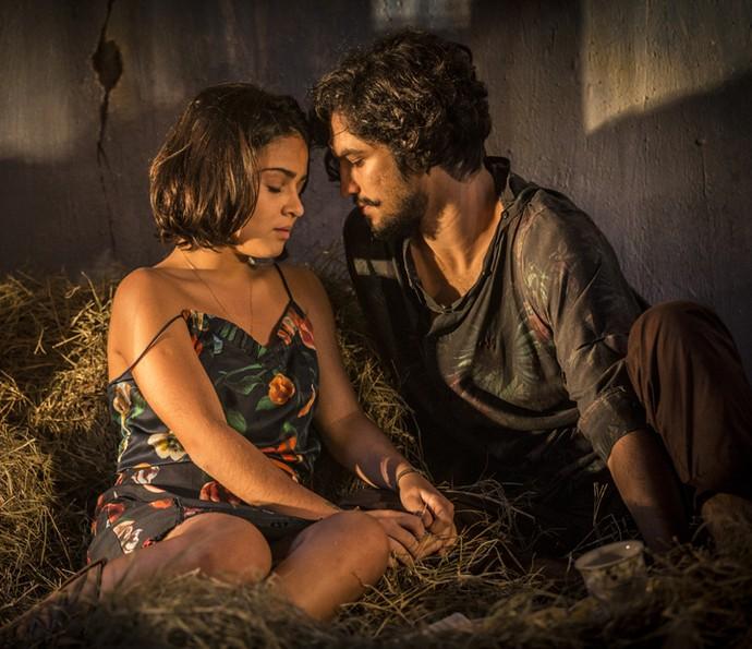 Olívia e Miguel estão cada vez mais entrosados (Foto: Inácio Moraes/ Gshow)