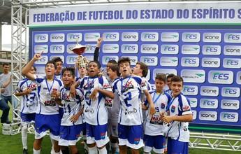 Vilavelhense vence o Porto Vitória e é campeão da Copa ES Sub-15 2015