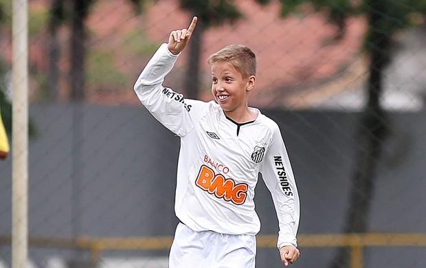 Bruno Funicelli Santos (Foto: Pedro Ernesto Guerra Azevedo / Divulgação Santos FC)